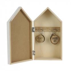 Grossiste boîte à clés Bienvenue au chalet 14.8x8x27.4cm