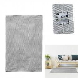 Tapis losanges gris 120x170cm