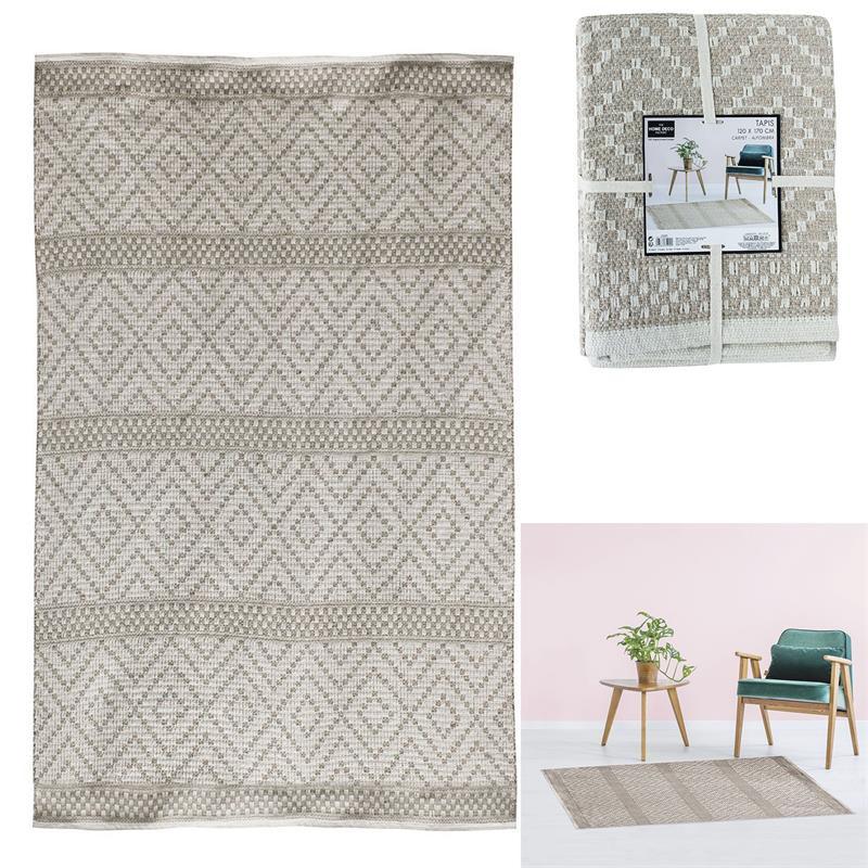 Grossiste tapis beige 120x170cm