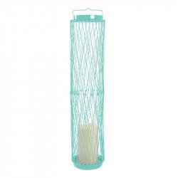 Grossiste photophore LED rétractable bleu