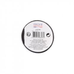 Grossiste bougie LED spécial Saint Valentin 12.5x7.5cm noire