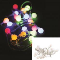 Grossiste guirlande 20 LED à la lumière multicolore de 230cm