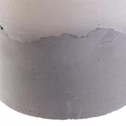 Grossiste bougie LED avec base en ciment 15x15cm