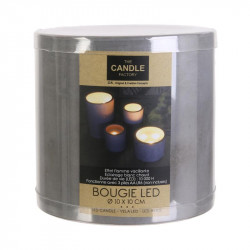 Grossiste bougie LED avec base en ciment 10x10cm