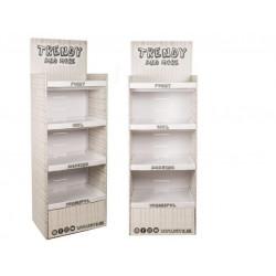 Grossiste présentoir étagère carton