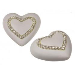 Grossiste cœur avec perles