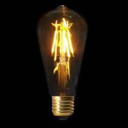 Ampoule st64 e27 led droit...