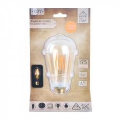 Grossiste ampoule st64 e27 avec led droit ambré 2w