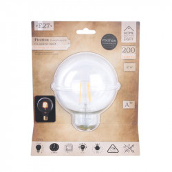 Grossiste ampoule g95 e27 avec led droit transparent 2W
