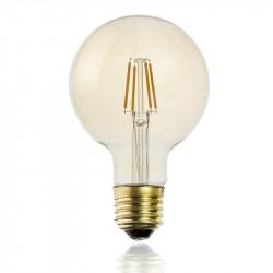 Grossiste ampoule g95 e27 avec led droit ambré 2w