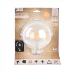 Grossiste ampoule g125 e27 avec led droit ambré 2w