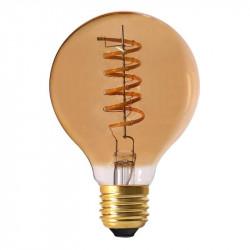 Grossiste ampoule g80 e27 avec led spiral ambré 2w