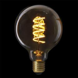 Grossiste ampoule g95 e27 avec led spiral ambré 2w