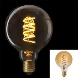 Ampoule g95 e27 led spiral...
