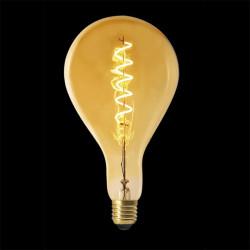 Grossiste ampoule ps160 e27 led spiral ambré 6w