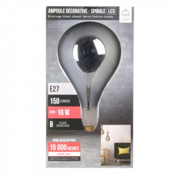 Grossiste ampoule PS160 E27 LED spiral irise 6W