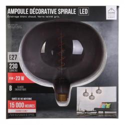 Grossiste ampoule en forme de bulle 220x225mm e27 gris 6w