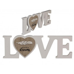Grossiste paraphe love en bois