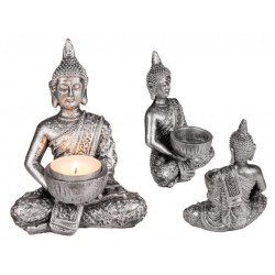 Grossiste bougeoir bouddha de14