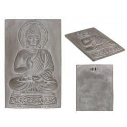Grossiste décoration murale bouddha en ciment