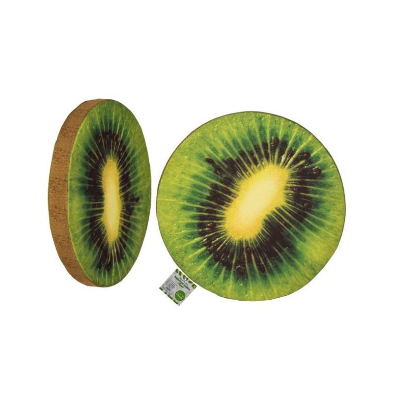 Grossiste coussin rond motif de kiwi