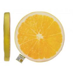 Grossiste coussin rond motif de citron