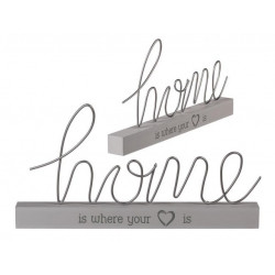 Grossiste décoration à poser home is where your heart is