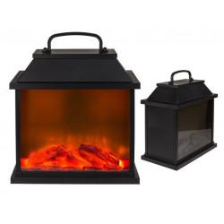 Grossiste lanterne en forme de cheminée avec 6 led