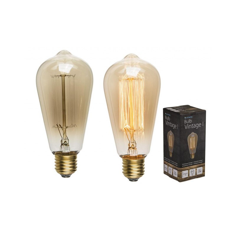 Grossiste ampoule vintage allongée de 12 cm