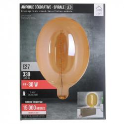 Grossiste ampoule ovale 180x270mm  e27 ambré 6w