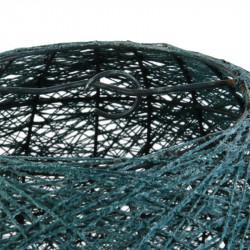 Grossiste suspension intérieur bleu pétrole 30cm