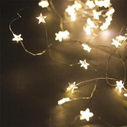 Grossiste guirlande étoilée 20LED lumière chaude 230cm