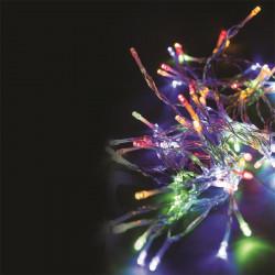 Grossiste guirlande avec 40LED multicolores à piles 430cm