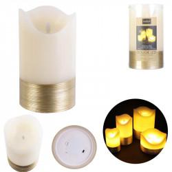 Grossiste bougie LED en fil doré 17.5x10cm