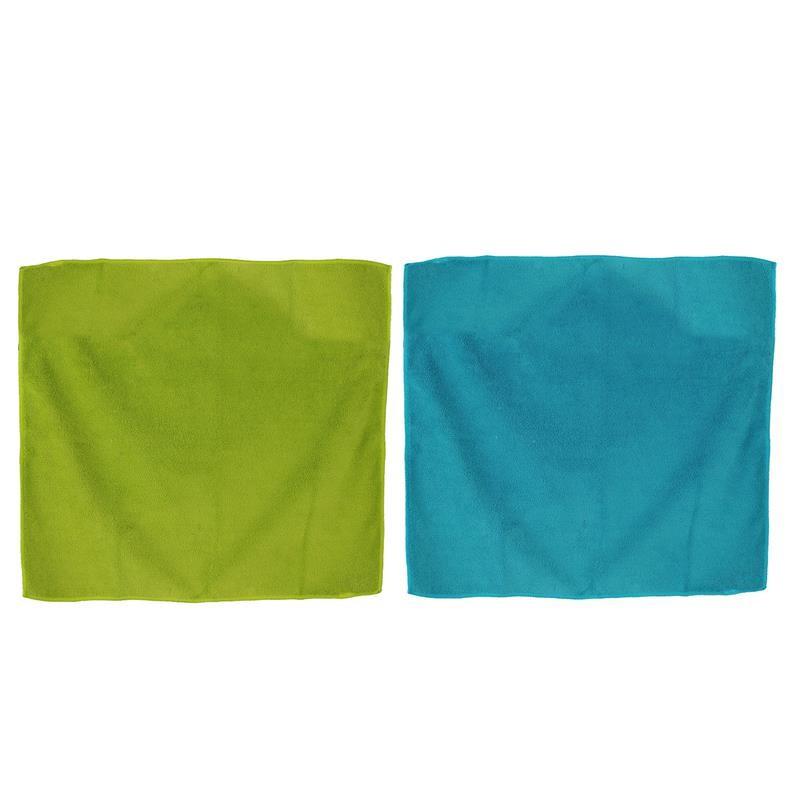 Grossiste et fournisseur. Torchon microfibre aimanté x 2 vert et bleu