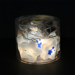 Grossiste guirlande étoilée 10 LED de 165cm