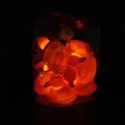 Grossiste guirlande flamant X10 LEDS