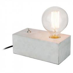 Grossiste lampe à poser rectangulaire finition ciment