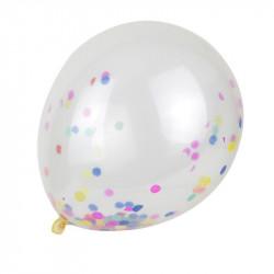 Grossiste et fournisseur. Ballon de baudruche confettis x 10