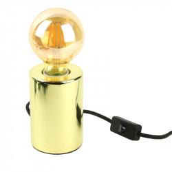 Grossiste lampe à poser doré