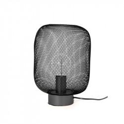 Grossiste lampe à poser avec grille noire
