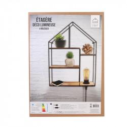 Grossiste étagère métallique et en bois pour la maison 50cm