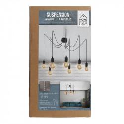 Grossiste suspension araignée avec 7 lumières modulables