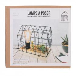 Grossiste lampe à poser dans maison filaire et plantes artificielles