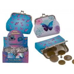 Grossiste porte-monnaie à motif papillon