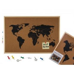 Grossiste tableau d'affichage carte du monde