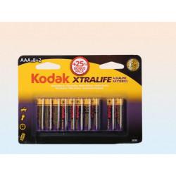 Grossiste piles alkaline micro / kodak xtralife / aaa / 1