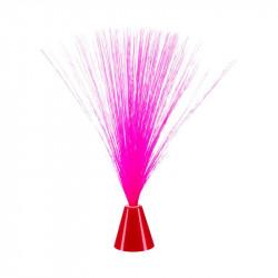Grossiste lampe fibre mini rose