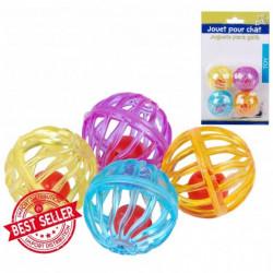 Cat bell ball toy