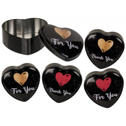 Grossiste boite métal en forme de coeur